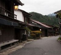Past continuous: Though the ancient Nakasendo is now surfaced here, Tsumag's mainstreet must look much the same today as it did centuries ago. | SKYE HOHMANN PHOTOS