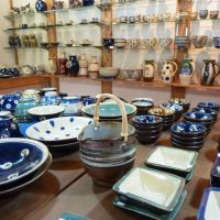 A gallery in the same town offers a selection of beautiful hand-thrown pottery.?