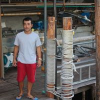 'Young salt': Yu Izuo, whose family's charter boat firm started in 1919. | KIT NAGAMURA PHOTO