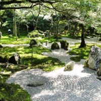 Ancient allures: Magnificent Komyozenji Temple's wonderful garden.