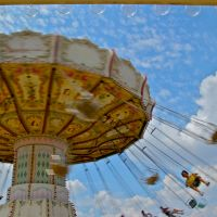 All the fun of the fair — and that's just the temples