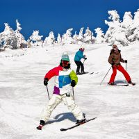 Skiing in comfort: Lodge Scole, run by Mao Ojima and her family, is known for its modern design, welcoming atmosphere and easy access to some of Zao Onsen's best slopes.