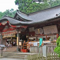 The grand main hall of Kitaguchi Hongu Fuji Sengen Shrine.