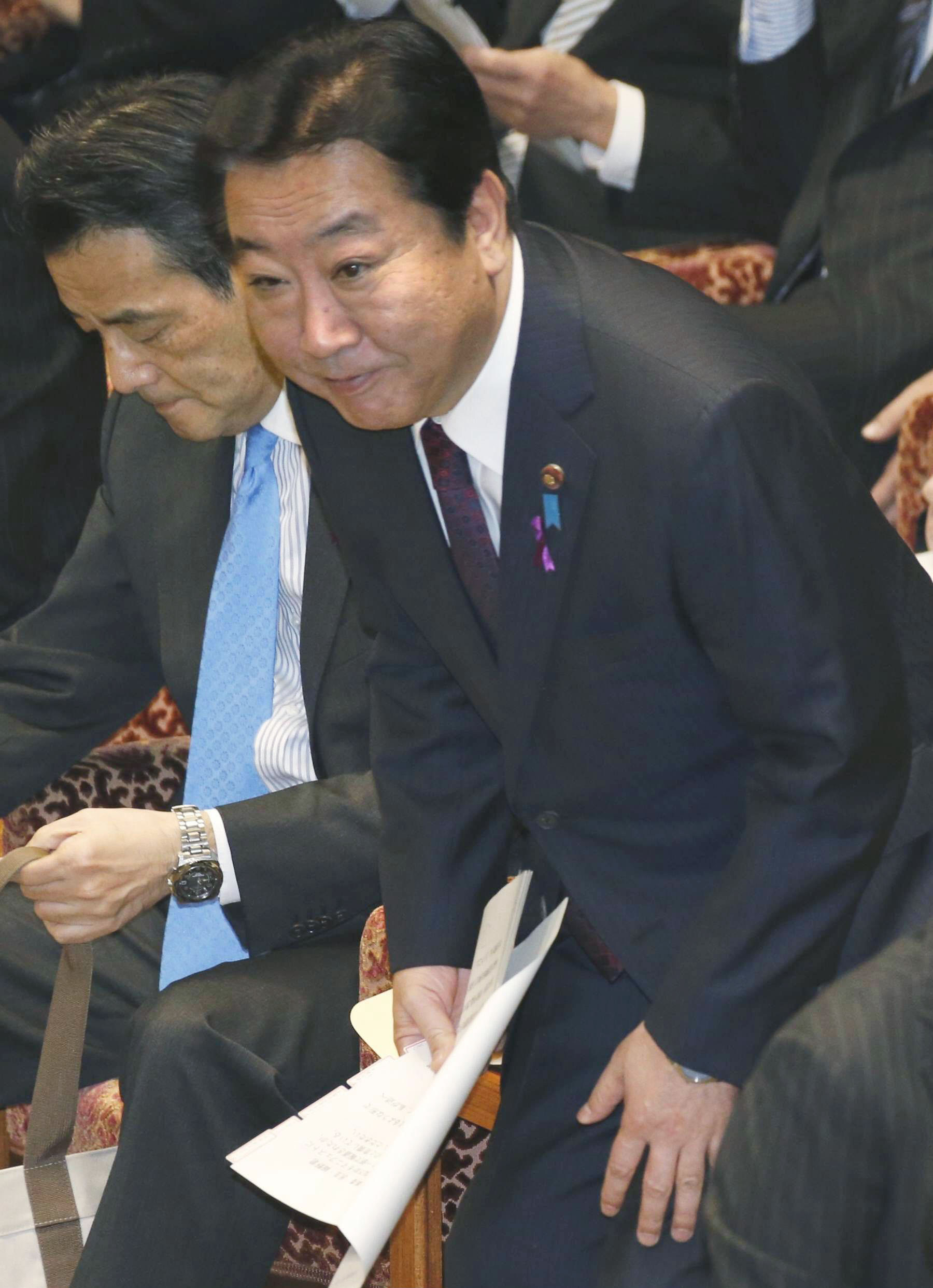 Under fire: Prime Minister Yoshihiko Noda attends a session of the Lower House Budget Committee on Monday. | KYODO