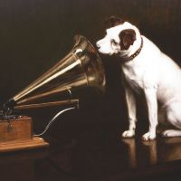 Dog days: The original 1898 His Master's Voice (HMV) trademark | AP
