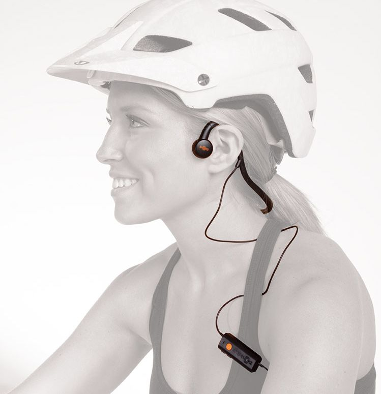 AfterShokz Sportz M2 bone-conductive headphones