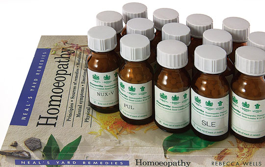 Homeopathy and alternative medicine