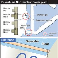 Tepco dumps toxic water into sea