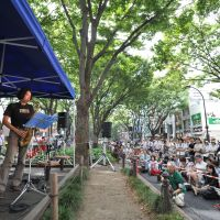 Showing their chops: Musicians perform last year during Sendai's 20th Jozenji Streetjazz Festival. | JOZENJI STREETJAZZ FESTIVAL PLANNING COMMITTEE ©