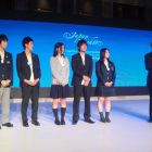 Tohoku students share tales of disasters on global stage