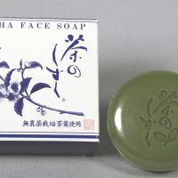 Use with caution: The label on Cha no Shizuku soap says only pesticide-free tea leaves are used as an ingredient. | KYODO