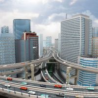 Out of sight: Central Tokyo would take on a new look if the Metropolitan Expressway network is buried underground. | SUGINAMI ROTARY CLUB