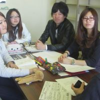 Aichi students develop disaster recovery project