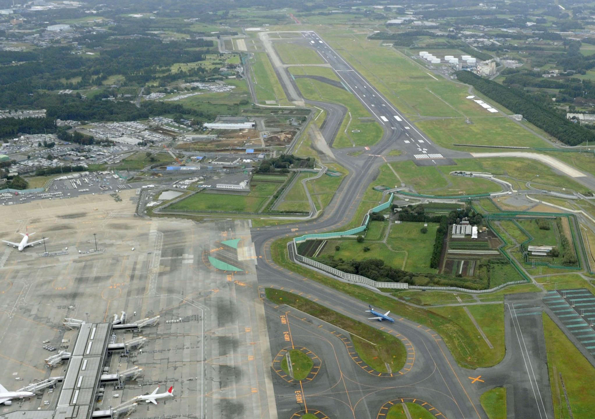 narita s second runway marks 10 contentious years the