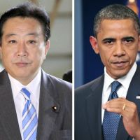 Face to face: Prime Minister Yoshihiko Noda's meeting with Barack Obama on Monday will be the first formal talks between a Japanese leader and a U.S. president in Washington since 2009. | KYODO