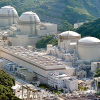 Shut off: Kansai Electric Power Co.'s Oi nuclear power plant in Fukui Prefecture was still operating last July. | KYODO