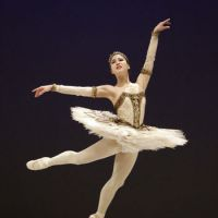 On her toes: Madoka Sugai, 17, dances during the prestigious Prix de Lausanne ballet competition in February in Lausanne, Switzerland. She won first prize. | KYODO