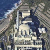Uncertain future: The Monju fast-breeder reactor in Tsuruga, Fukui Prefecture, as seen in November, remains idled. | KYODO
