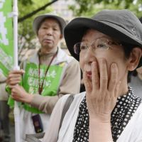 All for naught: Supporters of an 86-year-old man who has been on death row 40 years are stunned after the Nagoya High Court rejected his retrial appeal Friday over his conviction of fatally poisoning five women in 1961 in Nabari, Mie Prefecture. | KYODO