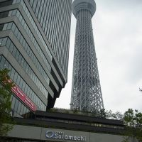 Hot property: The Solamachi shopping complex near Tokyo Skytree in Sumida Ward attracts visitors Tuesday. | SATOKO KAWASAKI