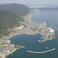 Spared?: The area of Tomonoura in Hiroshima Prefecture, considered one of Japan's most scenic coastlines, is seen last November. | KYODO