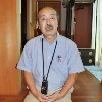 In harm's way: Koji  Yamamoto, whose journalist daughter, Mika, was killed Monday in Syria, speaks about her at his home in  Tsuru,  Yamanashi Prefecture, on  Tuesday. | KYODO