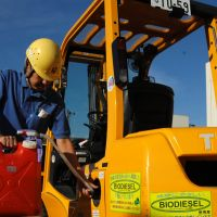 Cooking oil's second life: biodiesel