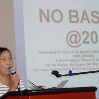 Philippine rejection of U.S. bases an example for activists