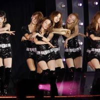 Korean waved off: The South Korean pop group Girls' Generation performs during the K-Pop All-Star Live concert in Niigata in August. | AP