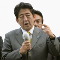 Abe: Let retired SDF warships defend Senkakus