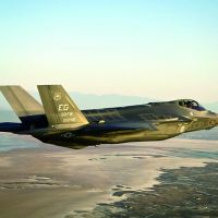 Asia buildup?: F-35 stealth fighter jets could replace the F/A-18 fighters at U.S. Marine Corps Air Station Iwakuni in Yamaguchi Prefecture in 2017. | KYODO