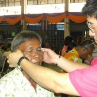 Aichi opticians help out elderly Thais