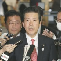 Abe dispatches New Komeito leader to mend China ties