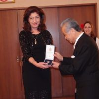 Scholar receives Serbian honor