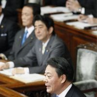 Kaieda lashes LDP on works spending