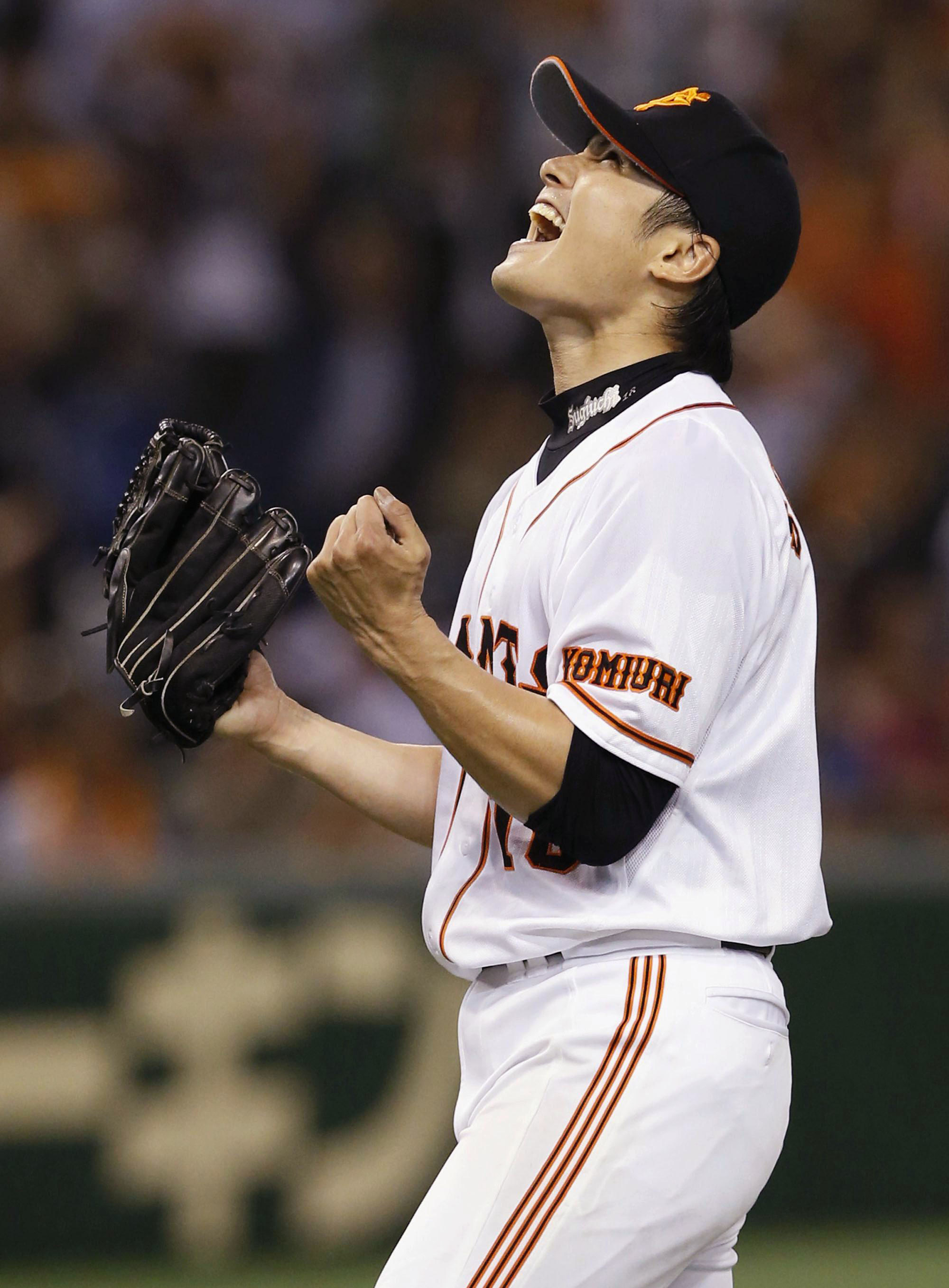 Month to remember: Toshiya Sugiuchi was 4-0 in five starts last month. | KYODO