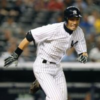New look: Ichiro Suzuki was traded from the Mariners to the Yankees ahead of this year's MLB trade deadline. Such deals rarely happen in Japanese baseball. | AP