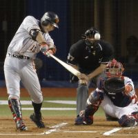 Second to none: Shinnosuke Abe leads Japan in both batting average and home runs, and is the favorite to win the CL MVP Award. | KYODO