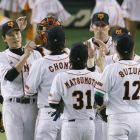 Giants trounce Fighters in Game 1
