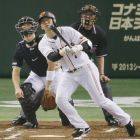 Sawamura, Chono lead Giants to win