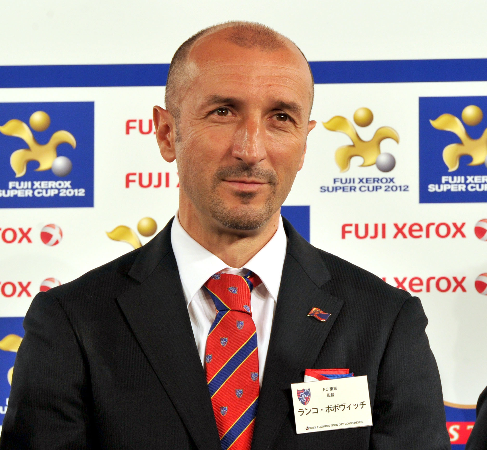 Big expectations: Ranko Popovic takes over an FC Tokyo club that won the J2 title and Emperor's Cup last season. | YOSHIAKI MIURA