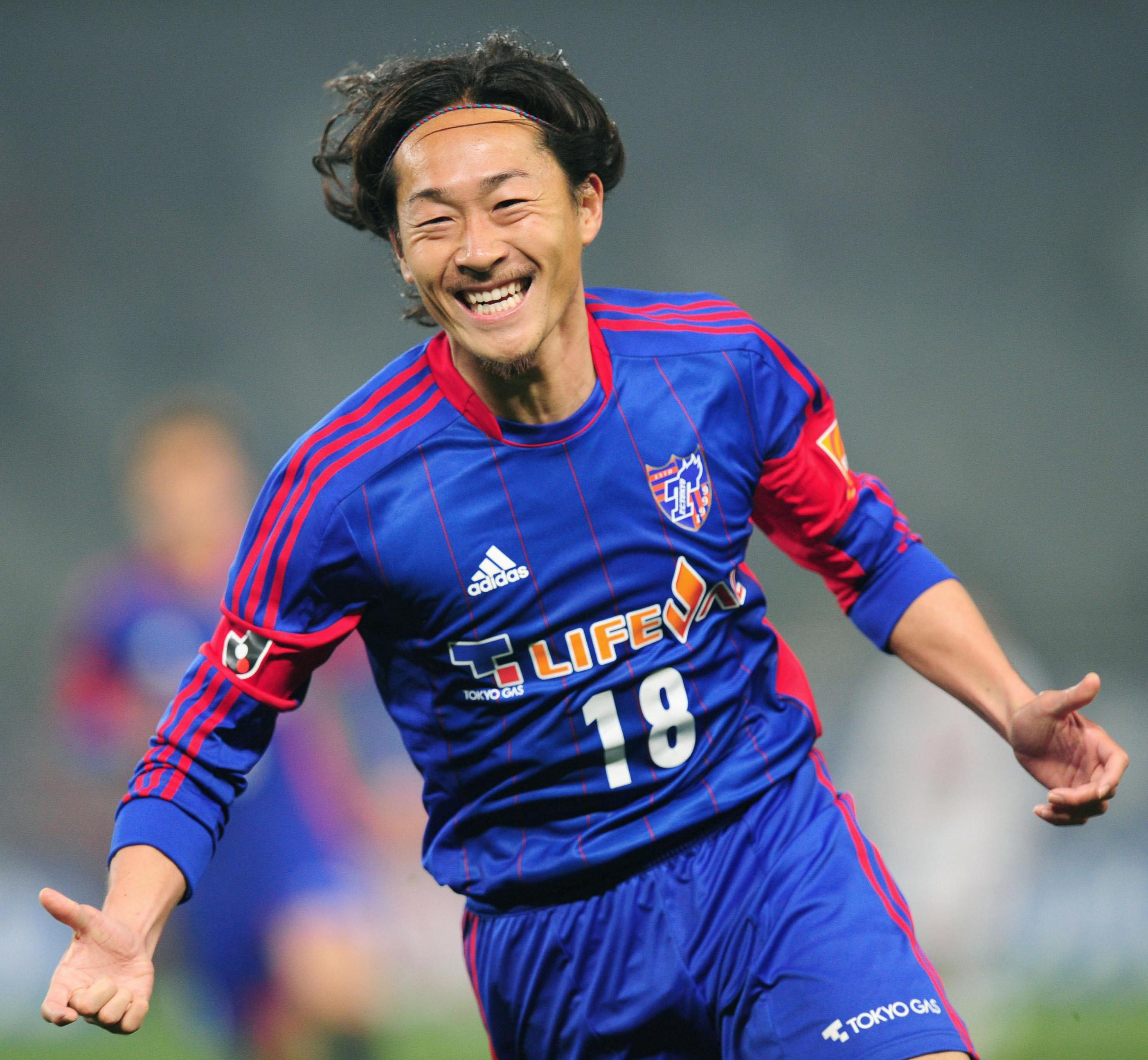 Ironic twist: FC Tokyo winger Naohiro Ishikawa believes the team's relegation to the J.League's second division last year has made it emerge stronger this season. | KYODO