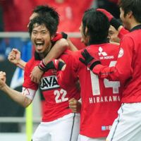 Fox in the box: Urawa Reds midfielder Yuki Abe returned to the club in January after 18 months with Leicester City. | KYODO
