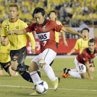 Resilient: Urawa Reds midfielder Tsukasa Umesaki has learned to deal with the challenges that come with being a professional soccer player. | KYODO