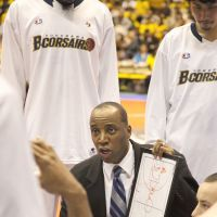Getting the job done: Yokohama B-Corsairs bench boss Reggie Geary, who'll serve as the Eastern Conference assistant coach for Sunday's All-Star Game, has guided the second-year franchise to a 20-8 start. | DOMINIKA FITZGERALD