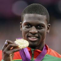 Grenada's James provides Olympics with feel-good story