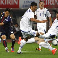 Fast track: Shinji Kagawa and Japan will be hoping to move a step closer to the 2014 World Cup in next Tuesday's qualifier against Iraq at Saitama Stadium. | AP