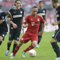Friendly fire: Franck Ribery will provide Japan with a stern test when Alberto Zaccheroni's side takes on France in a friendly at the Stade de France on Friday. | AP
