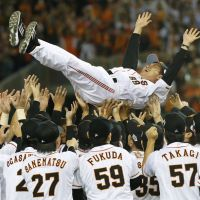 Get used to it: The Giants have the players and the resources needed to play a major role in the race for next season's Japan Series title. | KYODO