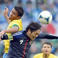 Out in front: Japan and Yasuhito Endo head into next Wednesday's World Cup qualifier away to Oman with a five-point lead at the top of Group B with half of the games played. | AFP-JIJI